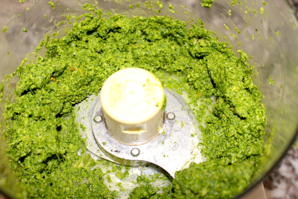 Pumpkin Seed Kale Pesto