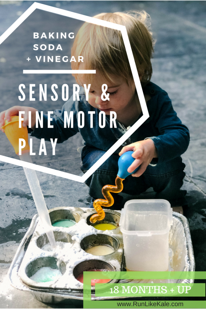 Simple sensory and fine motor play that your little one will love. Fun activity for 18 months and up.