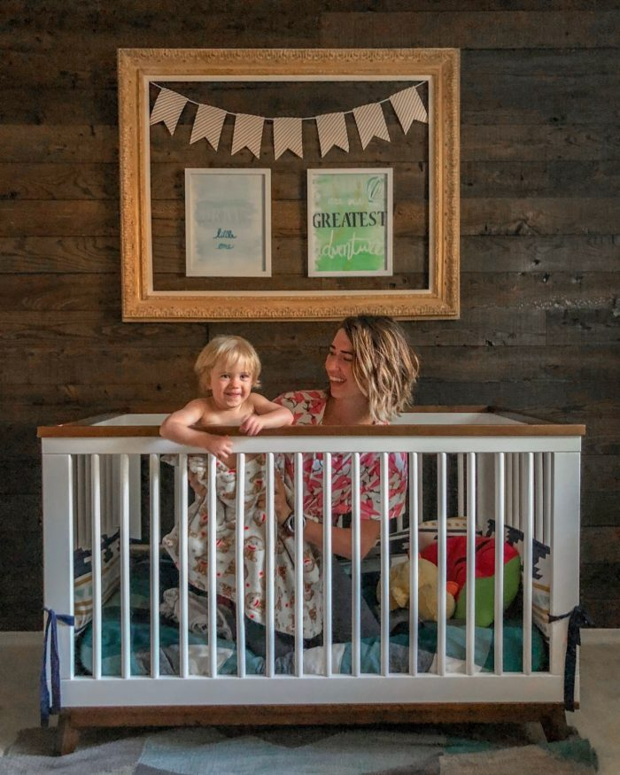 Our Secret To An Easier Crib To Toddler Bed Transition Run Like Kale